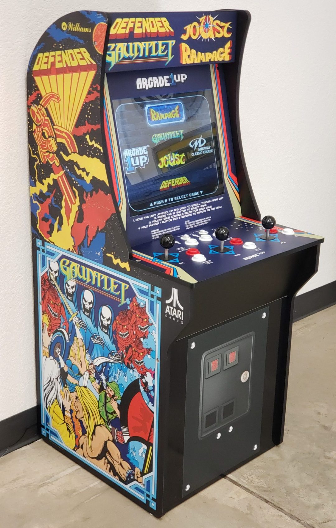Custom Stand Up Arcade Cab Graphics