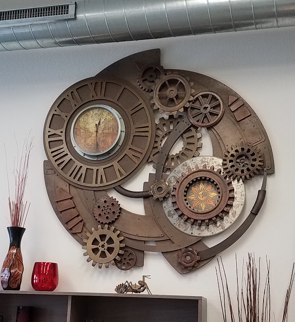 Custom Design - Steam Punk Wall Clock