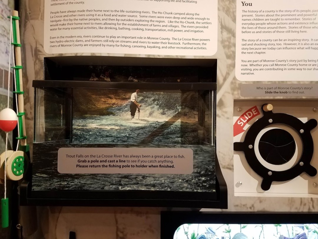 Museum Exhibit - Trout Falls Interactive