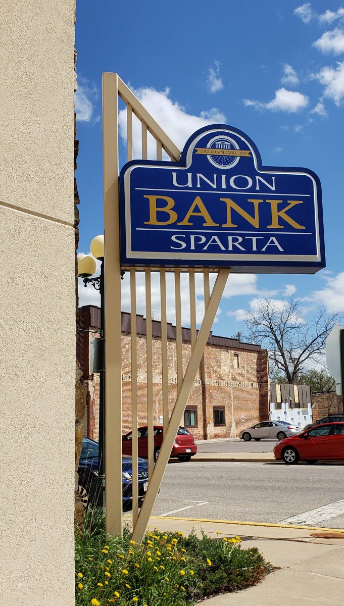 Union Bank of Sparta - Lighted Sign