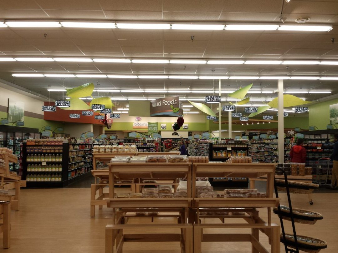 Medford Super Valu -Natural Foods- Acrylic Leaves