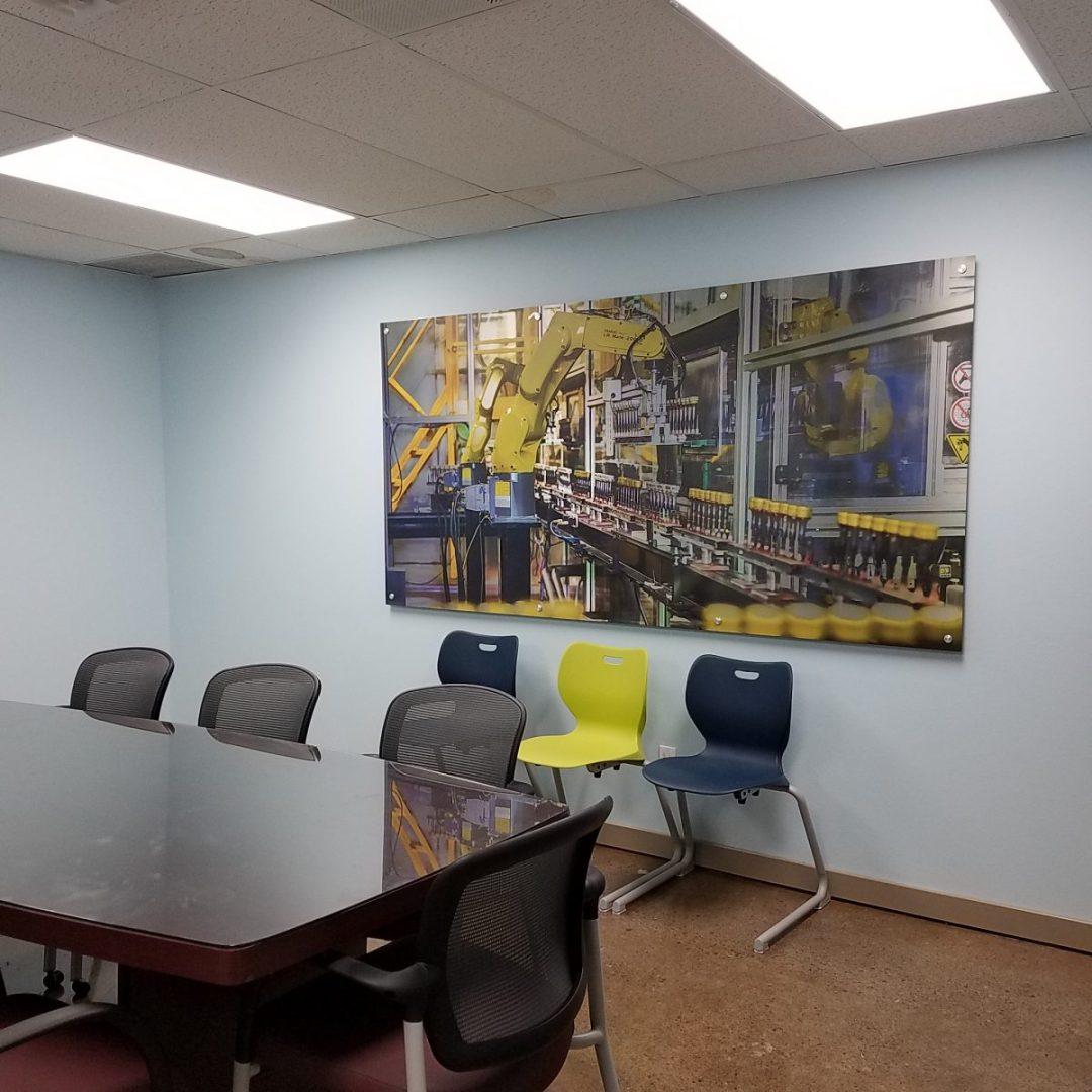 Spartek Conference Room Decor