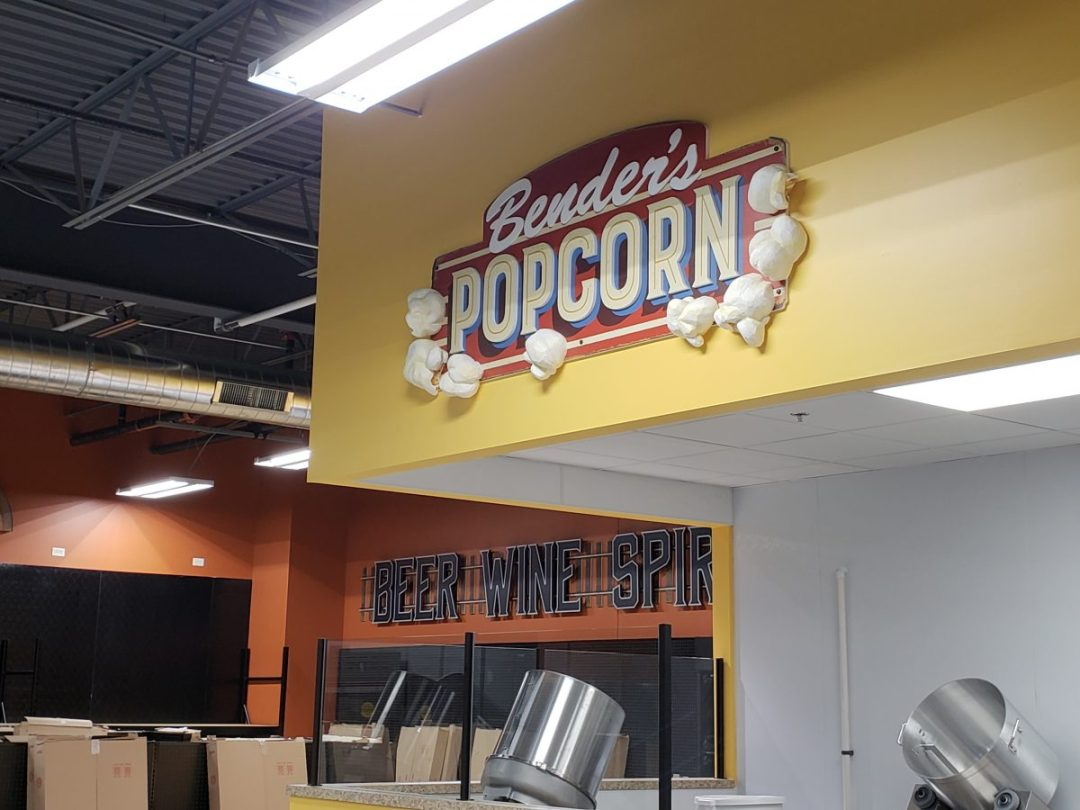 Bender's Grocery Interior Decor  - Deli Popcorn
