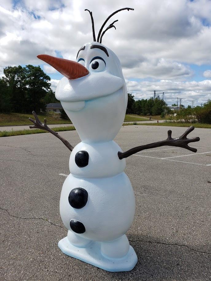 Olaf Weathering the Heat