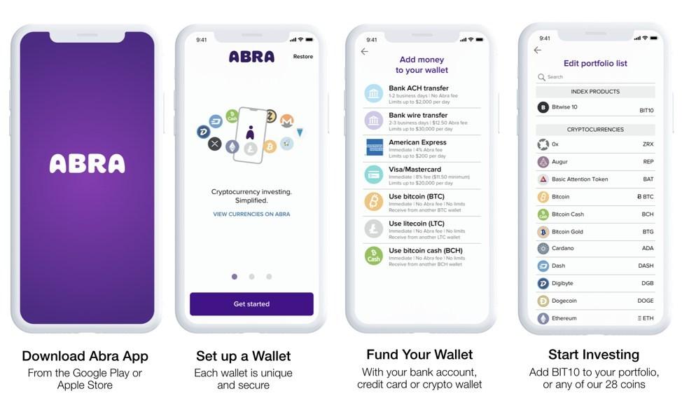 abra cryptocurrency app