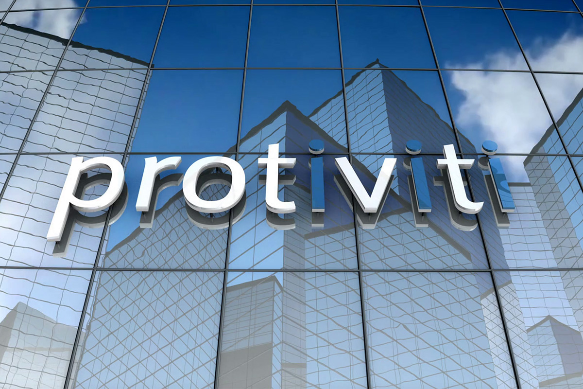 Protiviti CEO Joseph Tarantino and Executive Vice President