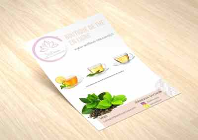 Selflove tea – Brochure