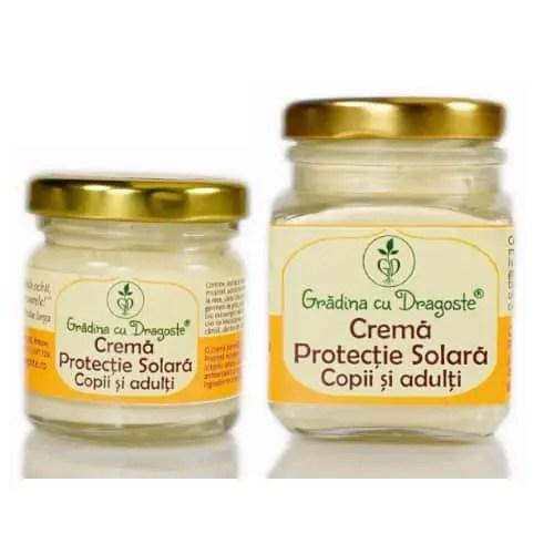 10 produse cosmetice pentru Bebeluși 100% naturale de la Grădina cu Dragoste