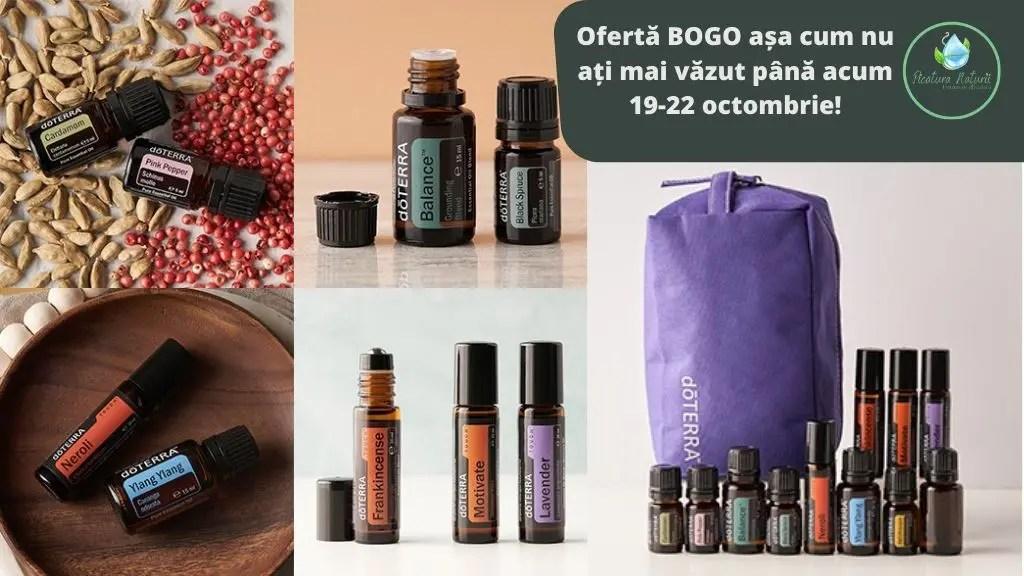 Ofertă BOGO doTerra Octombrie