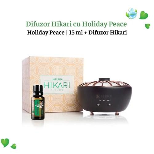 Difuzor Hikari cu Holiday Peace doTerra