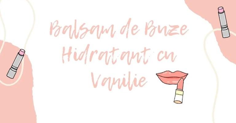 Balsam de Buze Hidratant cu Vanilie