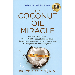 Coconut Oil Miracle 5th Edition Front Cover