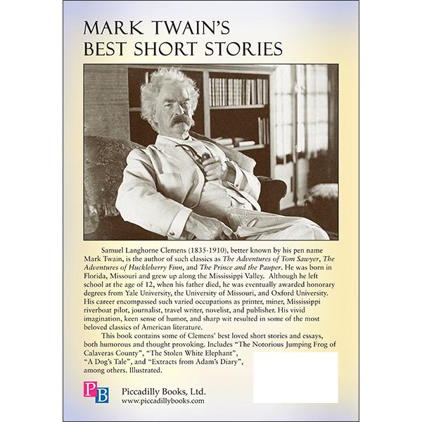 Mark Twains Best Short Stories Back Cover
