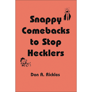 Snappy Comebacks Front Cover