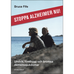 Stop Alzheimers Now Swedish front cover