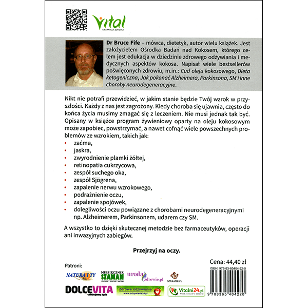 Stop Vision Loss Now Back Cover Polish
