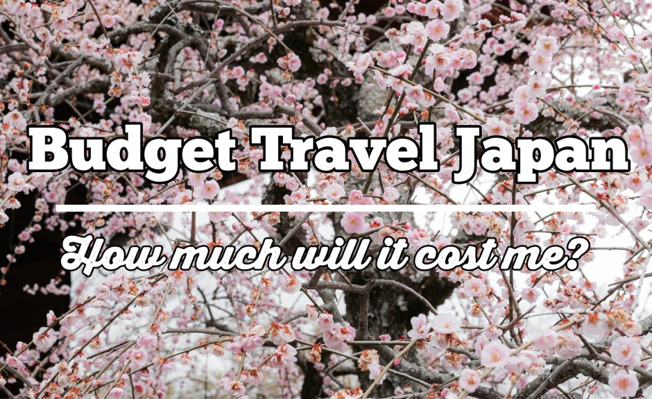 Budget Travel Japan: How much will it cost me?