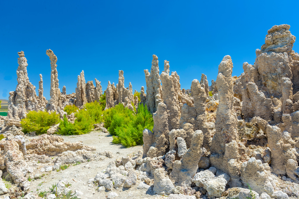 The tufas of Mono Lake