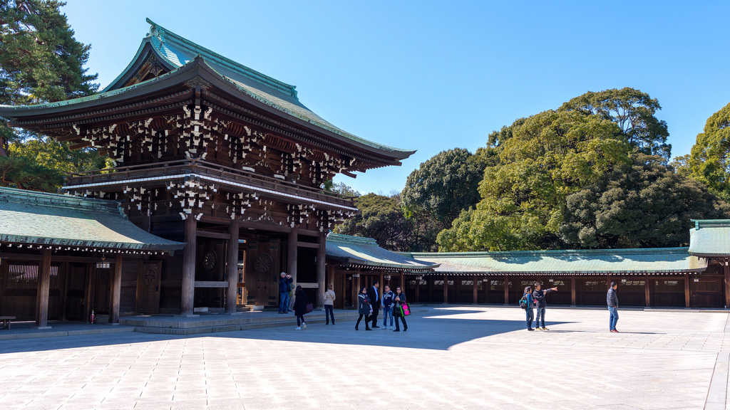 Meiji Shrine Interior
