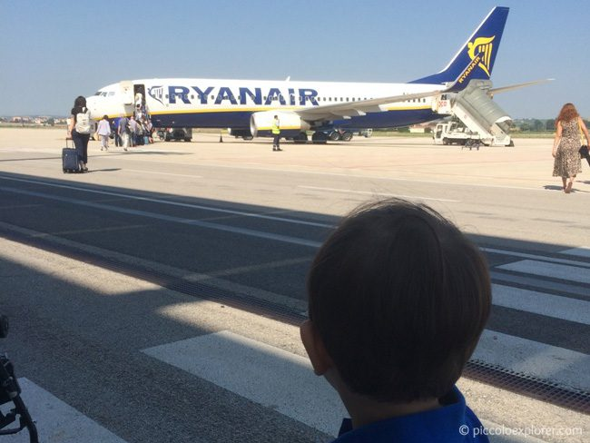 RyanAir at Ancona Marche Airport