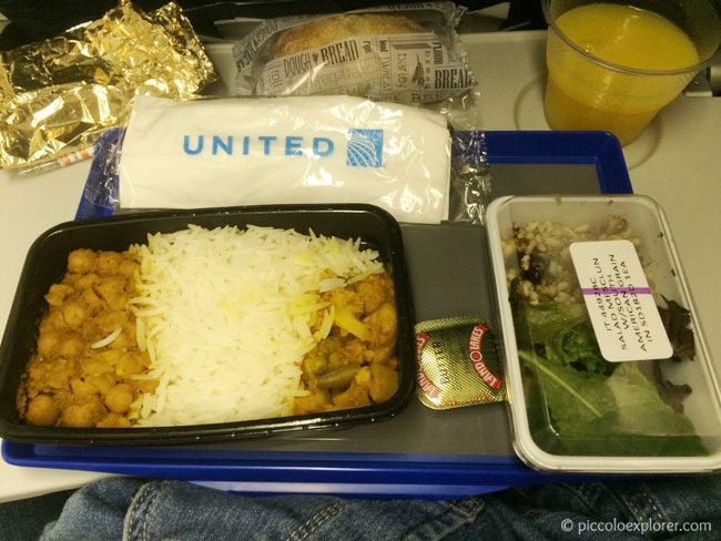 Flying United Dinner Service