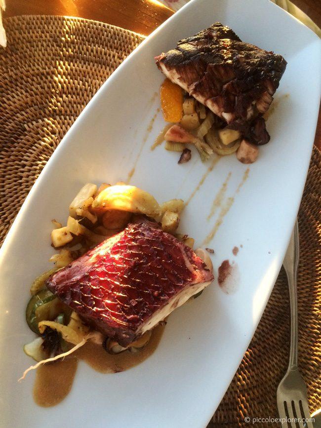 Grilled Teriyaki Ahi Steak at Ocean House Waikiki