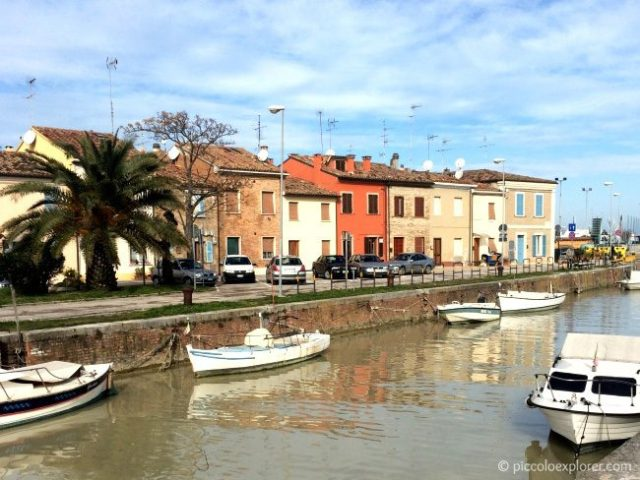 Port Canal in Fano Italy