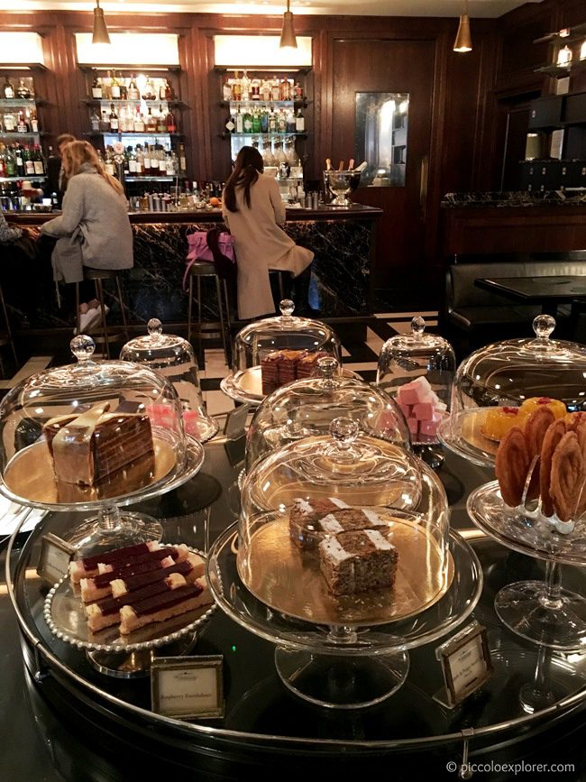 Dessert Counter at The Delaunay London