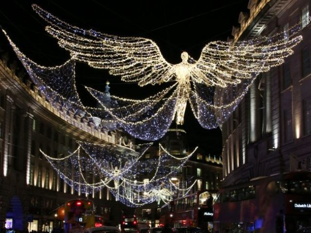 Christmas Lights, Regent Street London