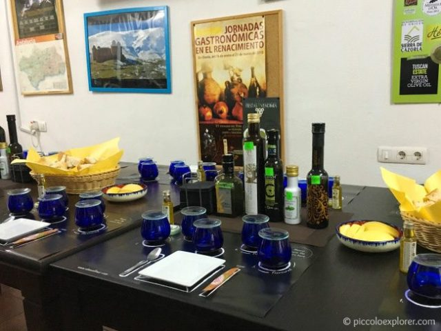 Olive oil tasting tour outside Granada