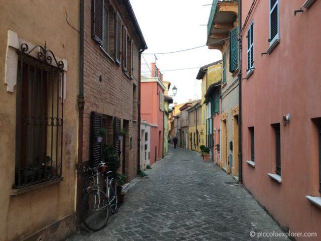 Fano town center, Italy