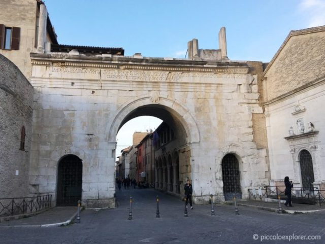 Arch of Augustus, Fano, Italy