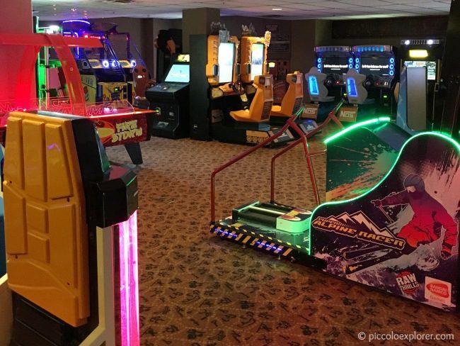 Arcade at Jambo House, Animal Kingdom Lodge, Orlando, FL