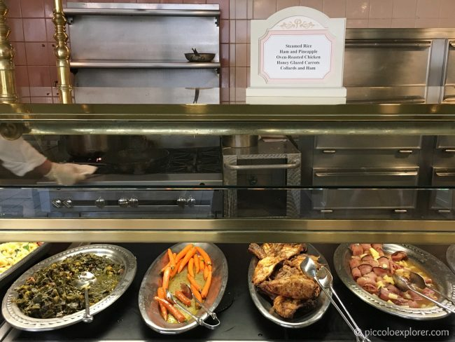 Lunch Buffet at Crystal Palace, Magic Kingdom