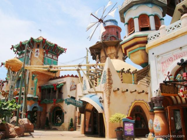 Port of Entry, Universal's Islands of Adventure
