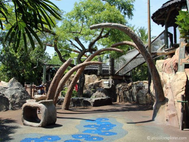 Camp Jurassic playground, Jurassic Park, Universal's Islands of Adventure
