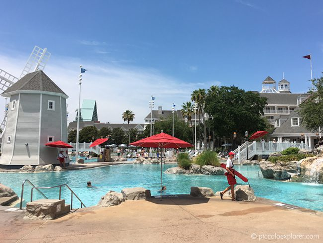 Swimming Pool at Disney's Beach Club Resort, Orlando