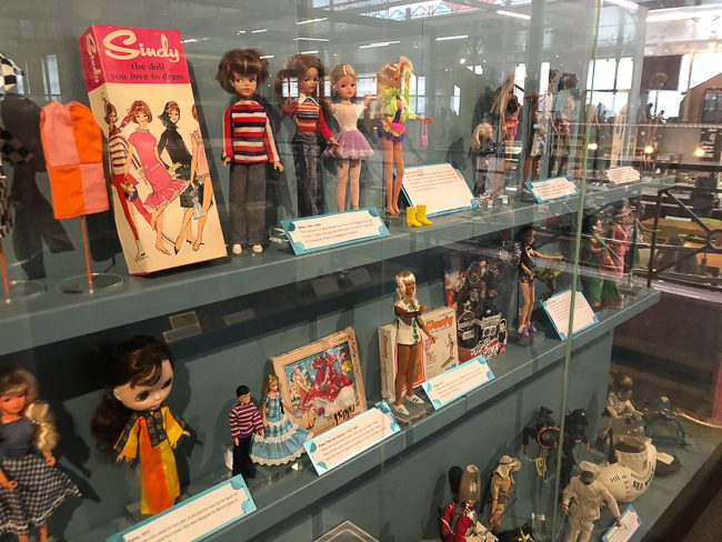 Dolls at Museum of Childhood London