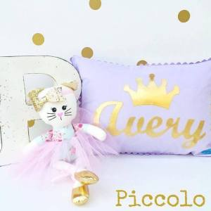 Girls personalised pillows