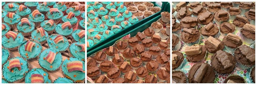 Bake stall cupcakes