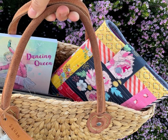Floral quilted iPad cover by Piccolo studio
