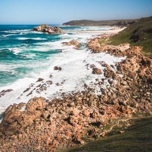 South African coast print