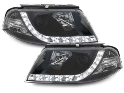 faruri drl led daylight vw passat b5.5