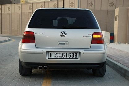 Prelungire bara spate VW Golf 4 V6 4motion