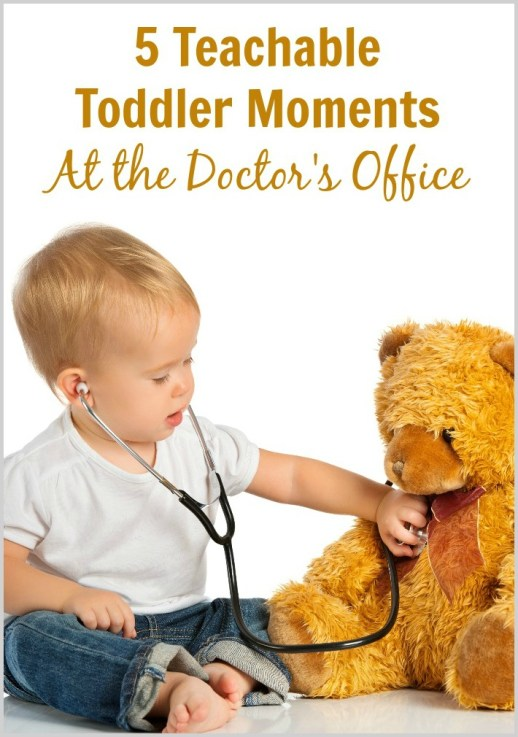 5 Teachable Toddler Moments at the Doctor's Office - Border