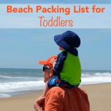 Beach Packing List for Toddlers