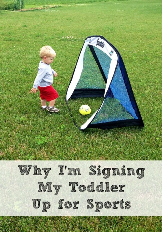 Why I'm Signing My Toddler Up for Sports