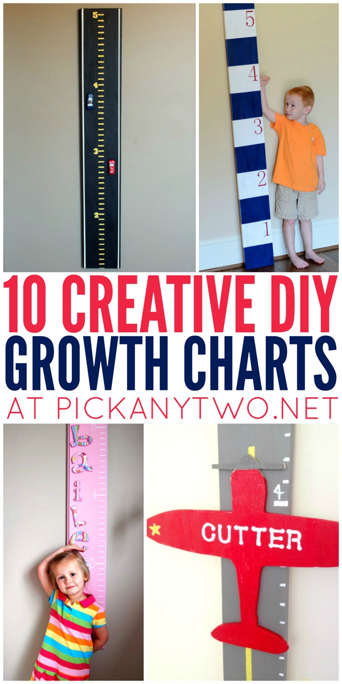 10 creative diy growth charts pick any two 10 creative diy growth charts nvjuhfo Images