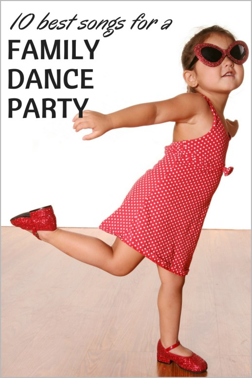 10 Best Songs for a Family Dance Party