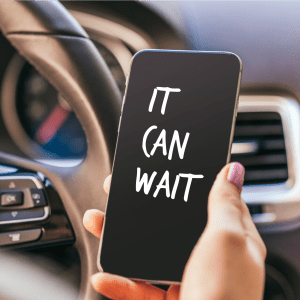 It's Time to End Distracted Driving #ItCanWait